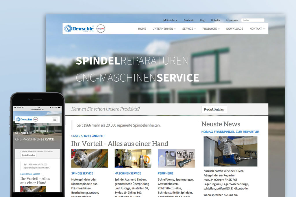 Deuschle Webseite